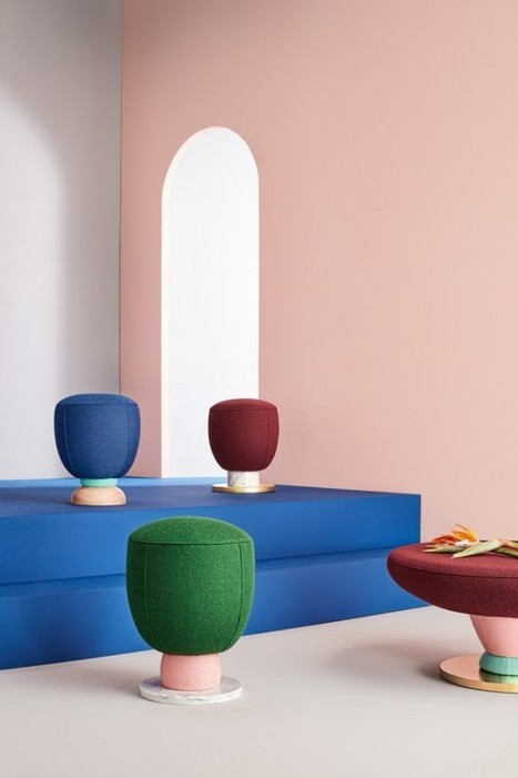 Collection Toadstool par Masquespacio - Journal du Design | Design search | Scoop.it