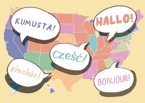 What Language Does Your State Speak? | Paraguay Lifestyle | Scoop.it