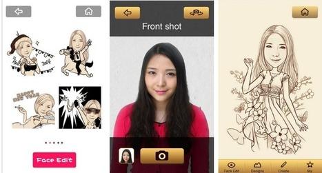 MomentCam, crea divertidas caricaturas con tus amigos   Linguagem Virtual   Scoop.it