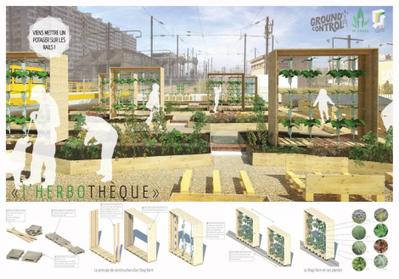 La SAUGE à Ground Control (18e) - Végétalisation éphémère d'un délaissé ferroviaire. | Agriculture citadine | Scoop.it