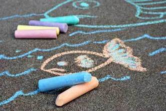 Creative Writing Ideas with Sidewalk Chalk - ChalkArt · Creativity-Portal.com | Serious Play | Scoop.it