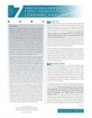 7 Things You Should Know About First-Generation Learning Analytics | EDUCAUSE.edu | Learning Analytics, Educational Data Mining, Adaptive Learning in Higher Education | Scoop.it