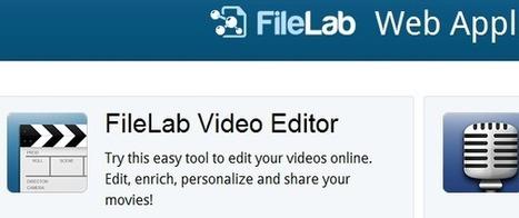 Comment créer un montage vidéo en ligne ? | Time to Learn | Scoop.it