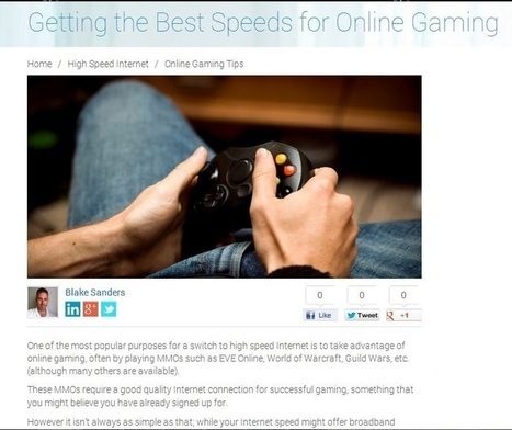 Look into Getting High Speed Internet in San Jose, CA for Online Games | T Link Broadband Services | Scoop.it