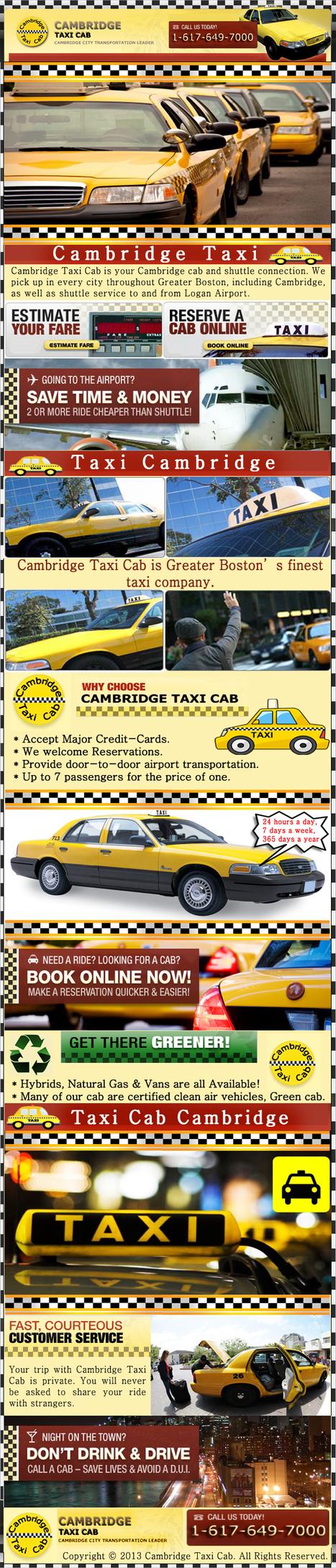 Cambridge Taxis | Cambridge Taxis | Scoop.it