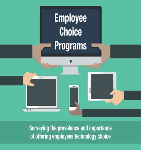 Survey: employees choose Apple products for work   Disruptive uses  (Internet of things, Connected Devices, 3D Print , Drones , Robots)   Scoop.it