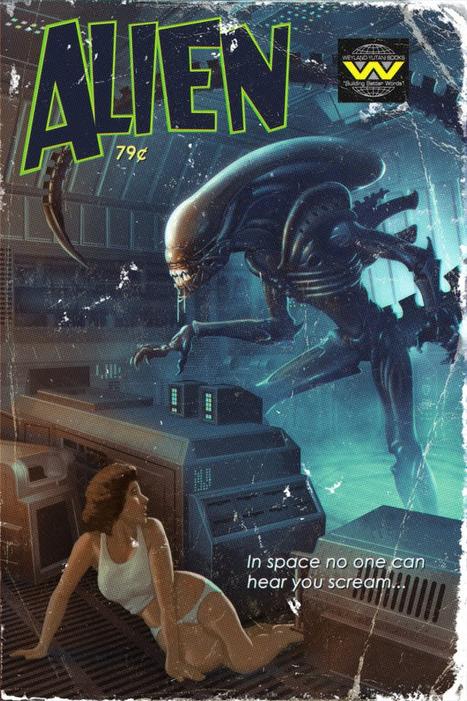 Riddler645 – Vintage Sci-Fi Movie Posters | All Geeks | Scoop.it