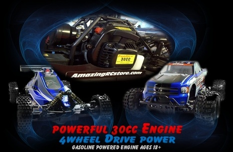 R/C HUGE Gas Powered 1/5 Scale | Redcat Racing Dealer in Canada | Amazing RC Store - Remote Control Fun & RC Racing | Scoop.it