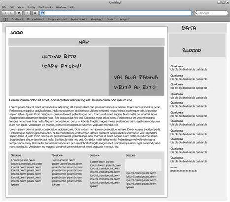 L'importanza del wireframe nel processo di creazione di un sito | Italian webdesign | corradosorge | Scoop.it