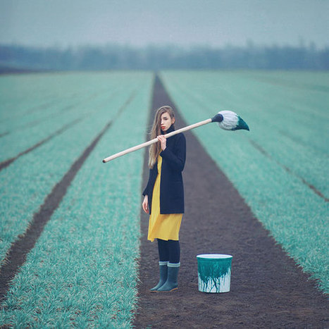 Photographer Takes Amazing Surreal Pictures With An Old Film ... | creative photography | Scoop.it
