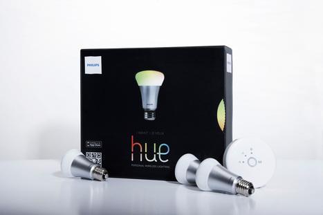 Philips hue : des ampoules LED sans fil et connectées au cloud | Domotique | Scoop.it