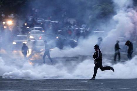 PSG: Violences au Trocadéro et sur les Champs-Elysées | violence et société | Scoop.it
