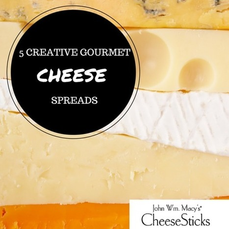 Cheesesticks :: 5 Creative Gourmet Cheese Spreads to Impress your Party Guests | Gourmet Snacks | Scoop.it