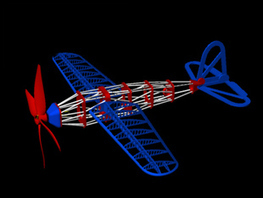 100% Printed Plane (Rubberband Powered) by JDCUBED - Thingiverse   Big and Open Data, FabLab, Internet of things   Scoop.it