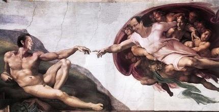 Idole – Google+ - Un peu de culture, redécouverte d'une fresque de Michel…   Humour et pub détounée   Scoop.it