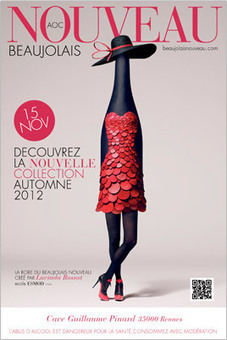 Le Beaujolais Nouveau 2012 - Les dessous de la robe | Packaging & vin | Scoop.it