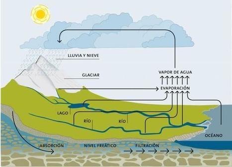 Ciclo del agua. Esquema | El ciclo del agua -primero | Scoop.it