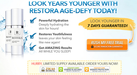 Restora Age-Defying Night Cream Review - Does It Work Or Scam? Know More - SkinSurv.com | Roof Terrace | Scoop.it