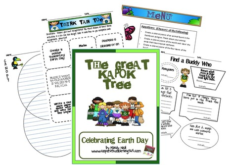 Celebrating Earth Day | Seasonal Freebies for Teachers | Scoop.it