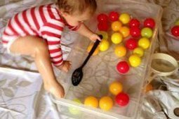 Indoor water play for babies and toddlers | Learn through Play - pre-K | Scoop.it