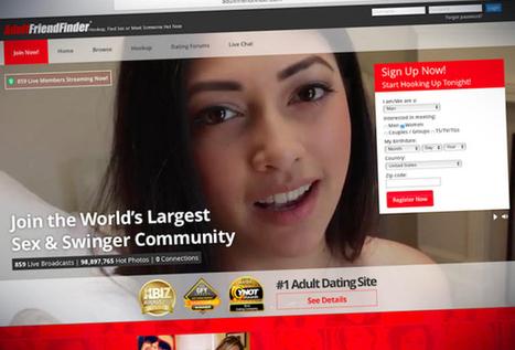 AdultFriendFinder.com : 412 millions de comptes mis à nu | Privacy breach | Scoop.it