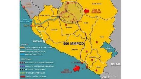 Así será el recorrido del Gasoducto Sur Peruano | El Comercio Perú - El Comercio | construcciones politicas latinoamericanas | Scoop.it