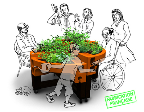 Verdurable, dispositifs jardiniers pour jardin thérapeutique   silver economy   Scoop.it