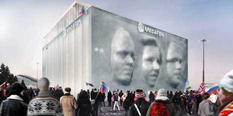 An Art Installation In Sochi Will Render Your Face On The Side Of A Building In 3D | It's Show Prep for Radio | Scoop.it