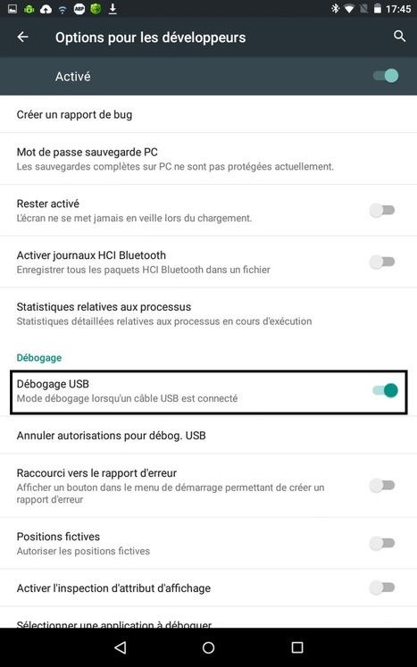 Info Magazine: Comment activer l'USB Debugging sur Lollipop et les appareils Samsung ? [tuto]   Enseigner avec Android   Scoop.it