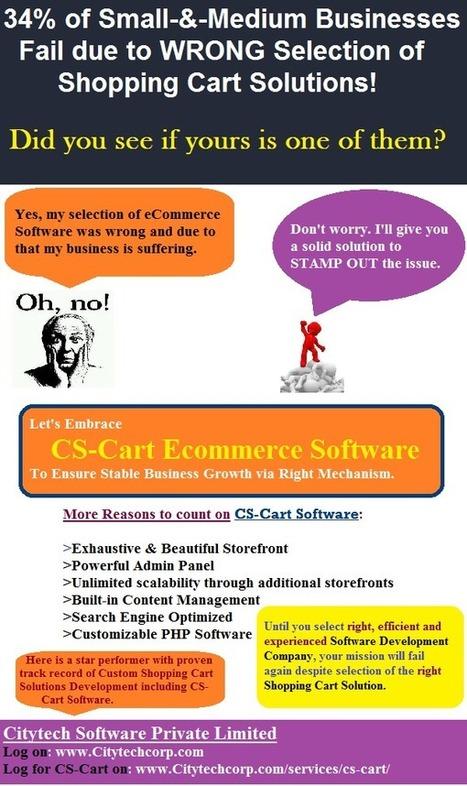 Excellent & Effective Shopping Cart Solutions- Customization of CS-Cart Software by Citytech Software Pvt. Ltd. | software&technology | Scoop.it