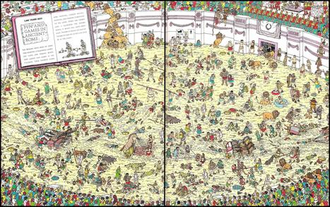Here's Waldo: Computing the optimal search strategy for finding Waldo | Randal S. Olson | Digital Love | Scoop.it