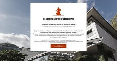 Histoires d'acquisitions - Le webdoc - Musée de Grenoble | Clic France | Scoop.it