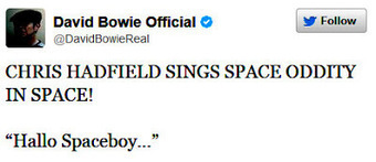 Astronaut Chris Hadfield - Space Oddity | Daily Crew | Scoop.it