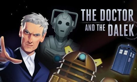 Doctor Who game materialises on tablets | Movie News | Scoop.it