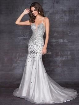 Cheap Spaghetti Straps Sleeveless Empire Prom Dress Sale at Amydress.co.uk | amydress | Scoop.it