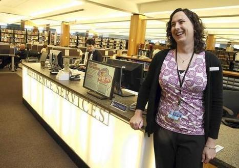 Library reference desks still exist | Librarysoul | Scoop.it