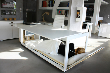 A Desk Built for Sleep | Office Spaces | Scoop.it