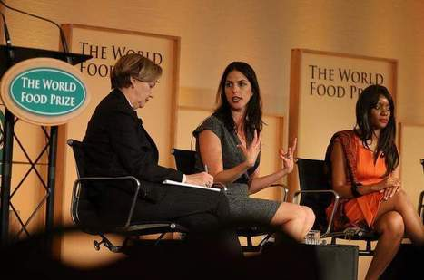 World Food Prize panel serves up ideas to end global hunger   Healthy Recipes and Tips for Healthy Living   Scoop.it