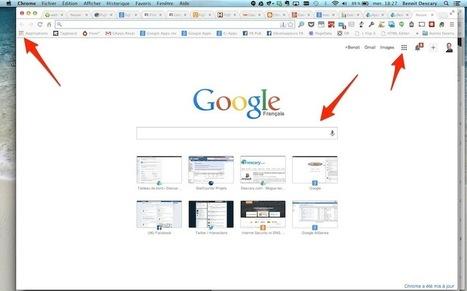 Google Chrome: nouvelle version de la page Nouvel onglet | Freewares | Scoop.it
