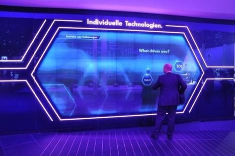Retour sur le Salon de l'Auto de Francfort : Tout ce qu'il faut savoir sur le design d'interfaces tactiles   Cabinet de curiosités numériques   Scoop.it