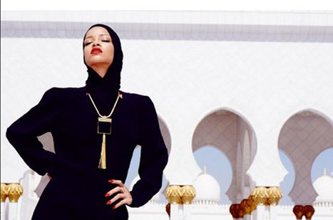 Rihanna Asked to Leave UAE Mosque Over Fashion-Style Photo Shoot   Hair care and styling   Scoop.it