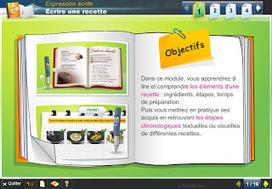 À table!: Exercice: Les éléments d'une recette   The French Classroom   Scoop.it