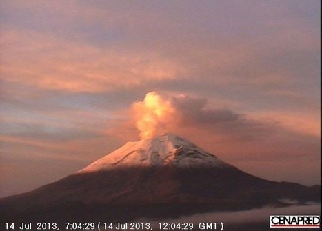 Popocatepetl Volcano: Earthquake and Growing Lava Dome Threaten Further Eruptions [VIDEO] | Humanities research task - Deep Earth | Scoop.it