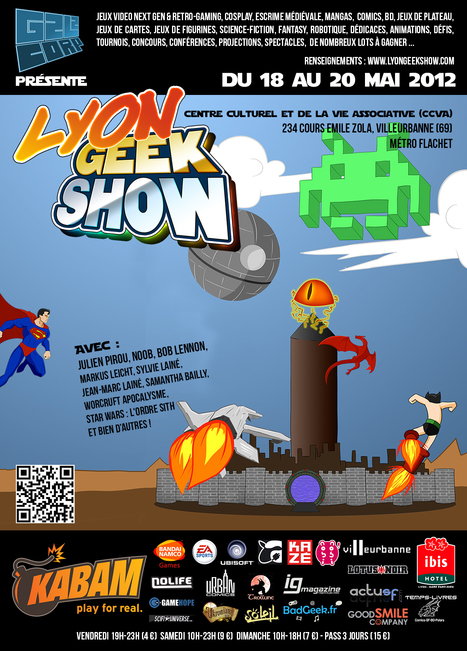 Lyon Geek Show 2012 | And Geek for All | Scoop.it