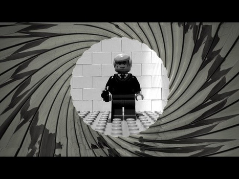 The opening sequence of Casino Royale, now in Lego | Multimedialand | Scoop.it