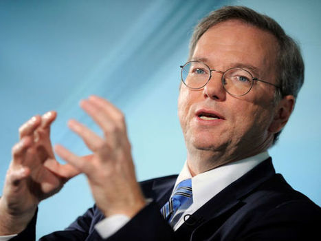 Eric Schmidt: Intelligentie machines vormen volgende schokgolf | IT-Councelor | Scoop.it
