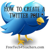 Free Technology for Teachers: How to Create a Twitter Poll | Social Media CC | Scoop.it