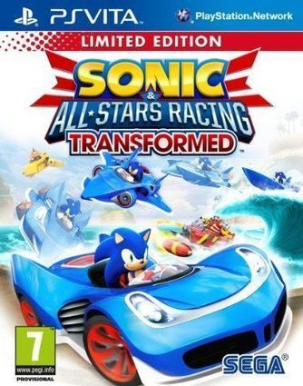 Sonic & SEGA All Star Racing Transformed (PS Vita) | Buy PS4 Video Games United Kingdom | Scoop.it