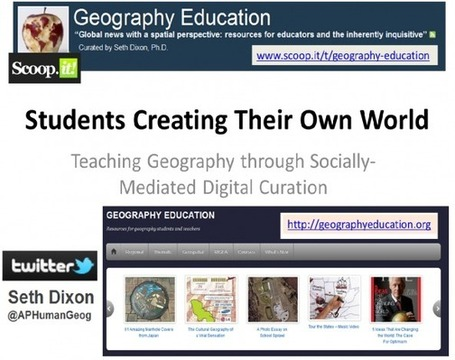 The Digitally Curated Textbook–My NCGE Presentation | Geography Education | Scoop.it