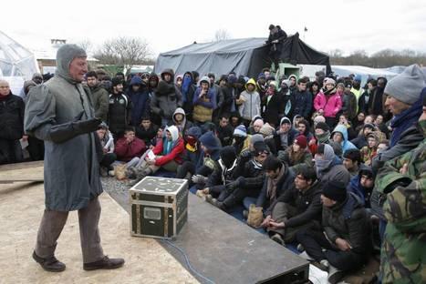 Calais: l'Amleto va in scena al campo profughi   NOTIZIE DAL MONDO DELLA TRADUZIONE   Scoop.it